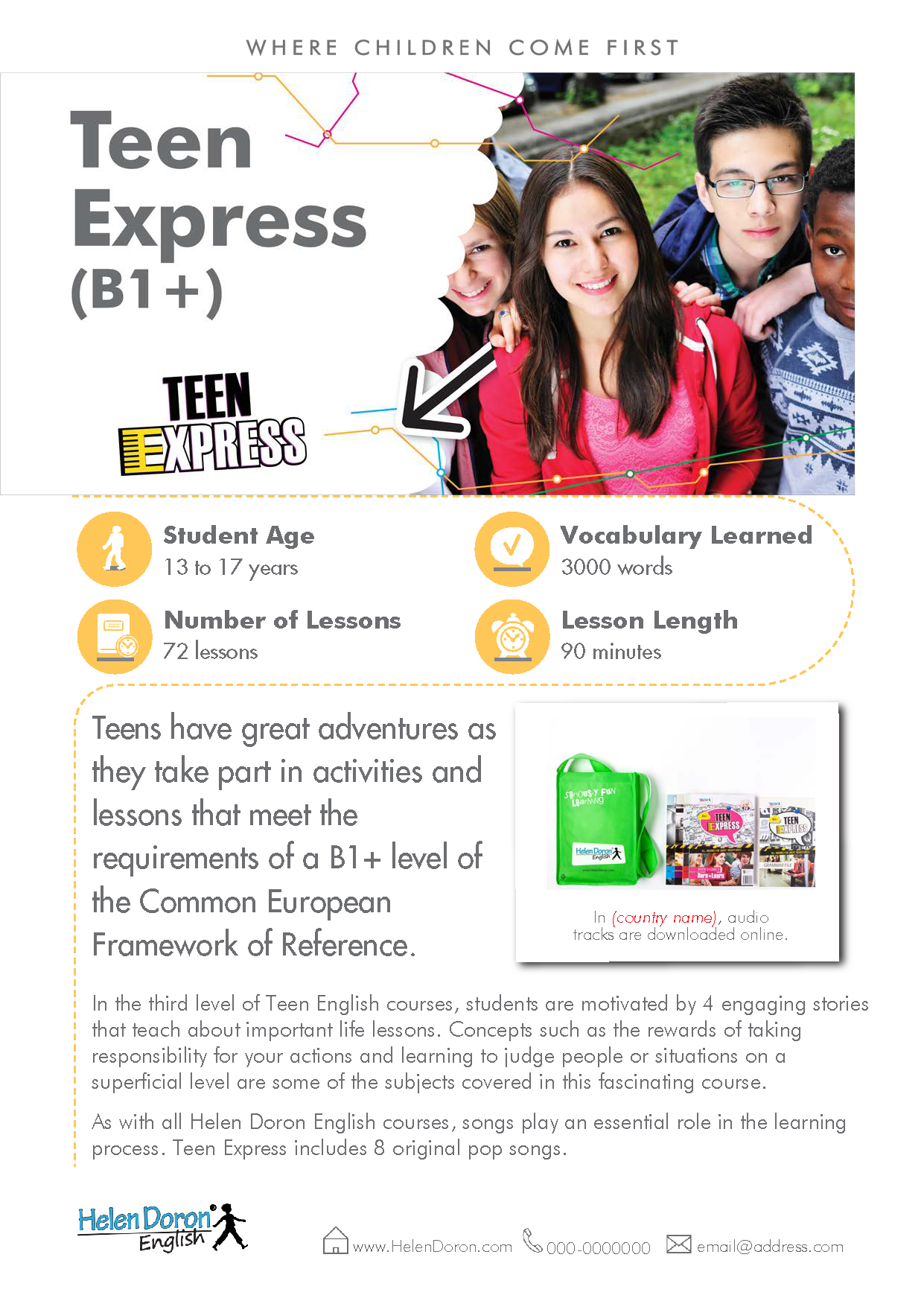 Descargar - Teen Express (B1+)‎
